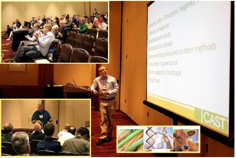 CAST Gene Editing Paper Presented at 2018 SIVB Meeting