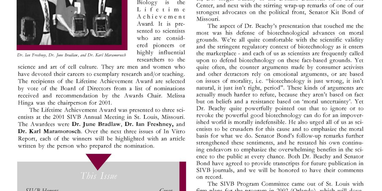 Issue 35.3 July-September 2001