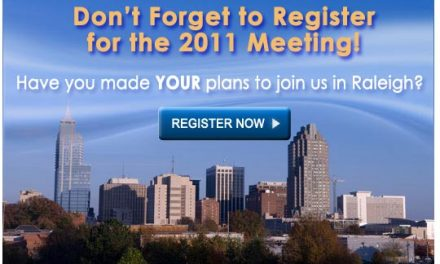 2011 Meeting Update